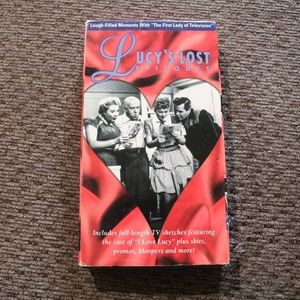 Lucy's Lost Episodes VHS
